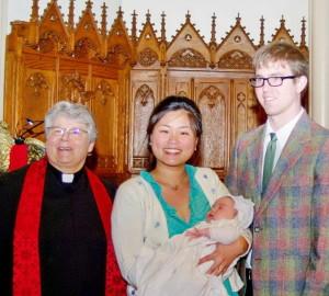 Baptism Nathaniel Nicolls