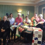 FELC Blanket Sewers donate lap quilts to WRC