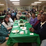 St. Patrick's Day Dinner WRC Fundraiser - guests from St. Paul's Episcopal Church